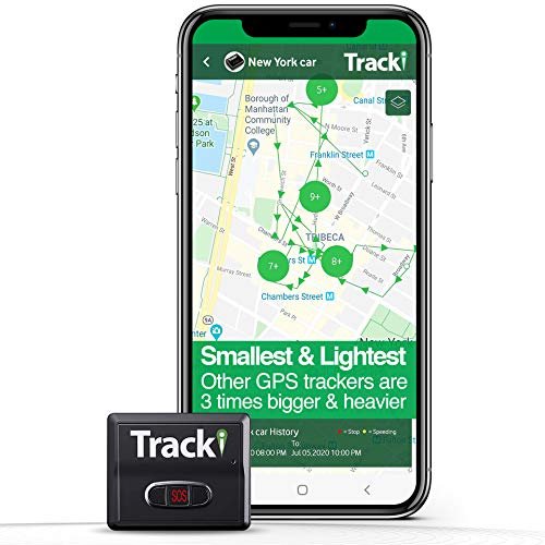 Tracki 2020 Model Mini Real time GPS Tracker.