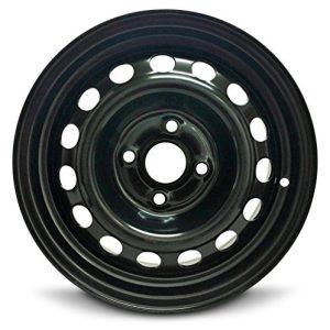 Wheel for 2012-2017 Hyundai Accent 14 inch 4 Lug Black Steel Rim