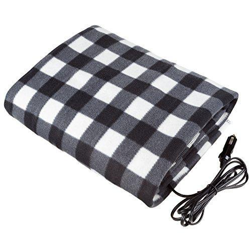 Stalwart - Electric Car Blanket- Heated 12 Volt