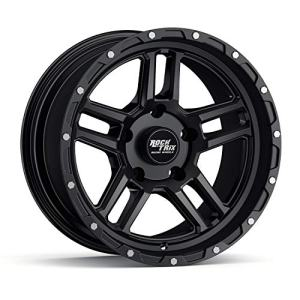 17 inch Wheel Compatible with Jeep Wrangler JK -12mm Offset, 4.5in Backspace