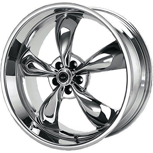 "Racing Torq Thrust M Wheel with Chrome Finish 17x7""/5x4.75"""