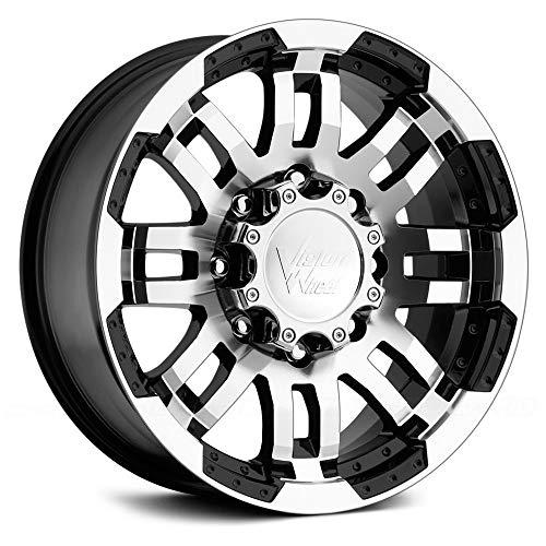 "Gloss Black Machined Face Wheel 16x8"""