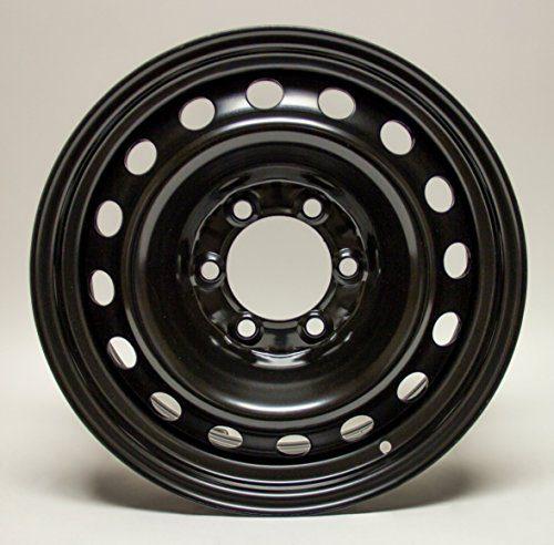 Steel Rim Wheel, 17X7 black finish