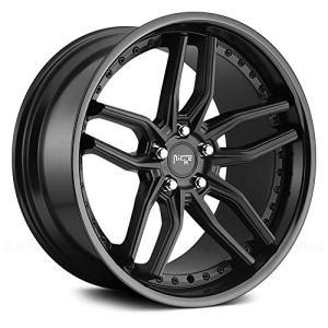 Black Wheel Rim Methos 20x10.5 5x112 +40mm