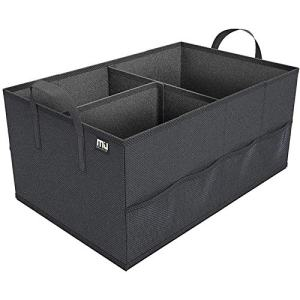Trunk Organizer with 8 Mesh Pockets Collapsible