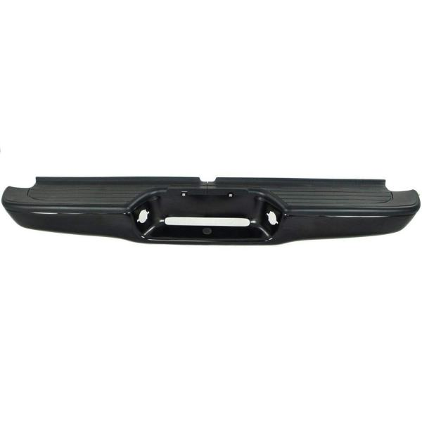 Toyota Tacoma 1995-2004 Rear Step Bumper Black Steel without Brackets