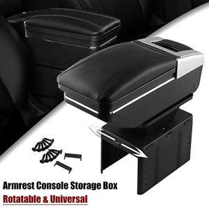Sporacingrts Universal Car Armrest Console Storage Box