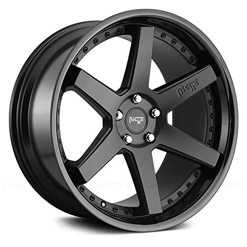 5x114.3 +35mm Black Wheel Rim Niche M192 Altair
