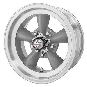 American Racing Custom Wheels Gray Wheel With Machined Lip
