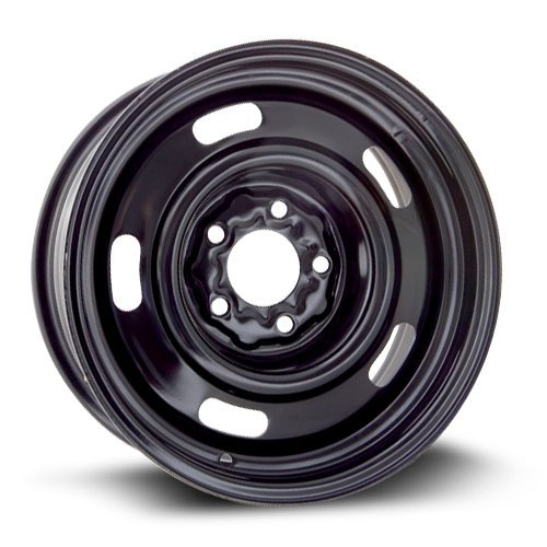 New Aftermarket Wheel Steel Rim black finish RTX