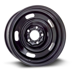 New Aftermarket Wheel Steel Rim black finish RTX