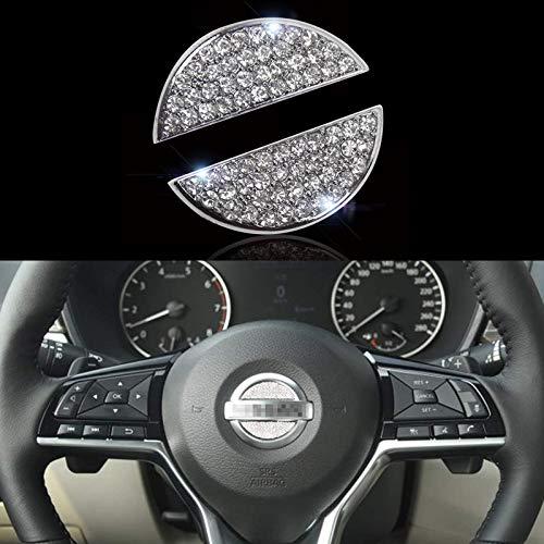 Bling Bling Car Steering Wheel Decorative Diamond Sticker