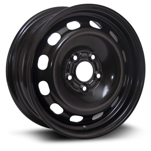 Aftermarket Wheel, 15X6, 5X108 RTX black finish