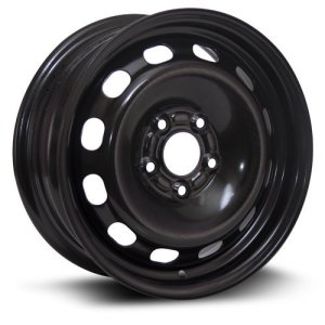 Aftermarket Wheel, 15X6, 5X108 RTX black finish