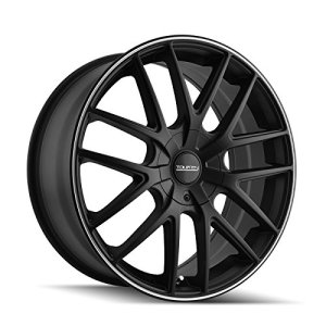 BLACK Wheel with Machined Ring Touren 5 x 112 mm
