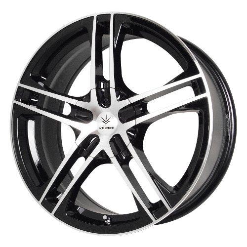 Custom Wheels Protocol Black Wheel with Machined Lip 17x7