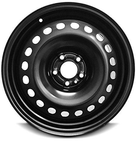 Wheel For 2014-2018 Jeep Cherokee 17 Inch 5 Lug Black Steel Rim