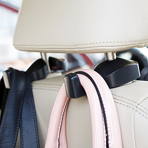 IPELY Universal Car Vehicle Back Seat Headrest Hanger Holder Hook