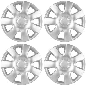 2002-2004 Toyota Camry Wheel Covers 15in Hub Caps Silver Rim