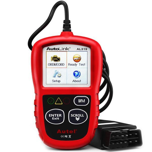 Autel AutoLink Scanner Automotive Engine Fault Code Reader