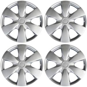 Toyota Yaris 15inch Hub Caps Silver Rim Cover