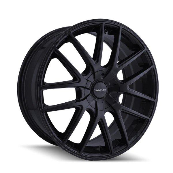 TOUREN TR60 Full Matte Black Wheel 42 mm Offset