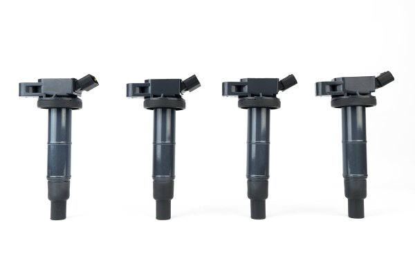 Ignition Coil Pack Set of 4 - Compatible with Toyota