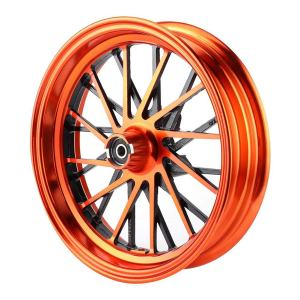Aluminum Alloy Front Wheel Rims for Single Disc 12x2.75in