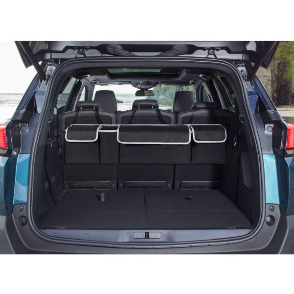 Car Backseat Trunk Organizer Organizer Cargo Storage Bag with 4 Spacious Large Pockets