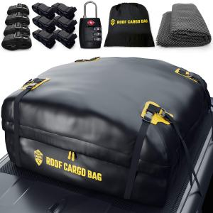 Carrier Roof Bag + Protective Mat - 100% Waterproof