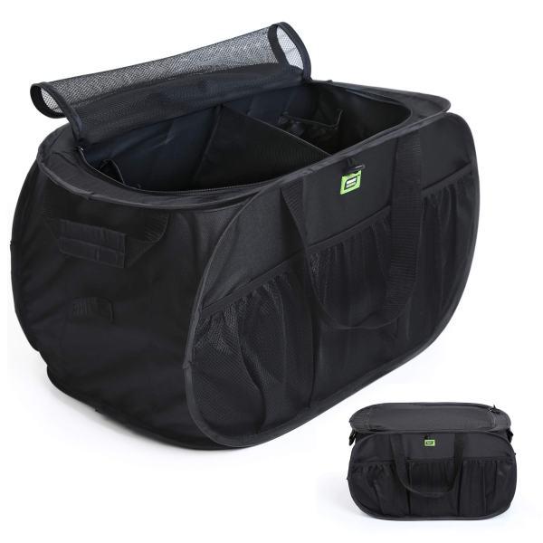 Pop Up Trunk Organizer w/ Easy Carry Handles