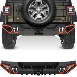 OEDRO Rear Bumper Compatible with 2018-2021 Jeep