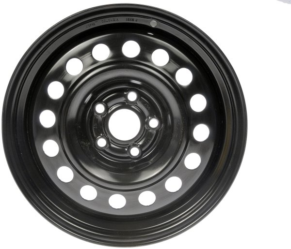 Dorman Black Wheel with Painted Finish 45 mm Offset