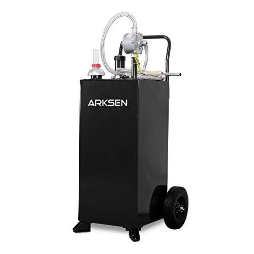 ARKSEN 30 Gallon Portable Automotive Fuel Transfer