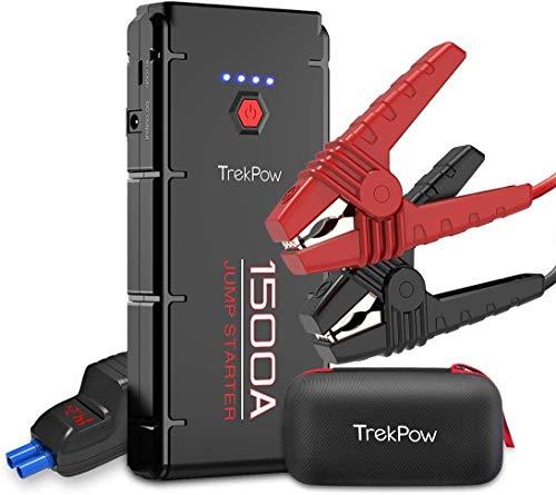 TrekPow Battery Jumper, G22 1500A Jump Box Pack