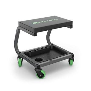 MYCHANIC Fastback Shop Stool - Rolling Garage Stool