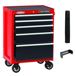 Tool Cabinet with Drawer Liner Roll & Socket Organizer