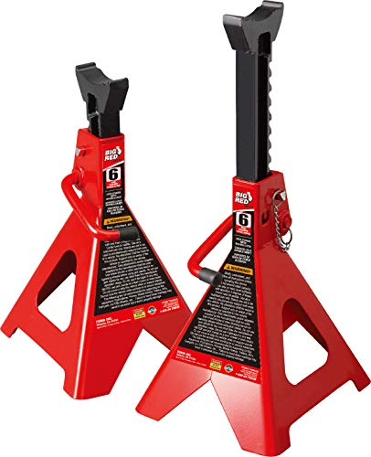 BIG RED Torin Steel Jack Stands: Double Locking