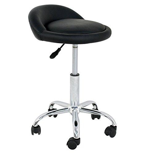Adjustable Hydraulic Rolling Swivel Stool Chair Salon