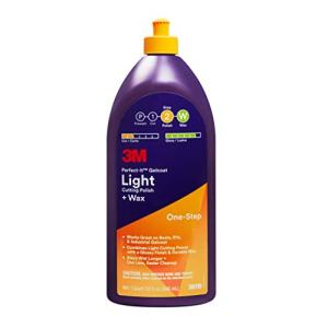 Gelcoat Light Cutting Polish + Wax 1 Quart 3M