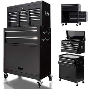 8 Drawers Large Capacity Rolling Tool Chest