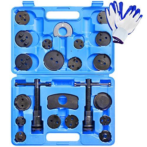 YSTOOL Universal 24PCS Brake Caliper Compression Tool Kit