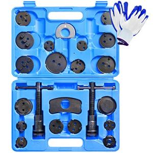 YSTOOL Universal 24PCS Brake Caliper Compression Tool Kit