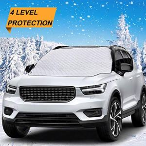 LUOWAN Windshield Cover for Ice and Snow