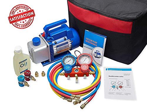 NewPosition 4CFM 1/3HP Air Vacuum Pump HVAC A/C
