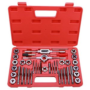Best Choice 40-Piece Tap and Die Set - SAE Inch Sizes