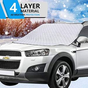 Hivernou Car Windshield Snow Cover, Windshield Cover
