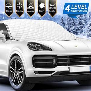 Chanvi [2021 Newest] Car Windshield Snow Ice Cover