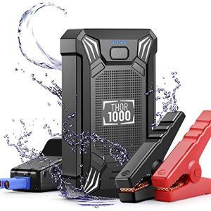 Car Battery Jump Starter Portable - 600A Peak Waterproof