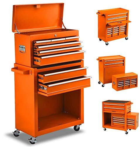 High Capacity 8-Drawer Tool Chest Tool Box